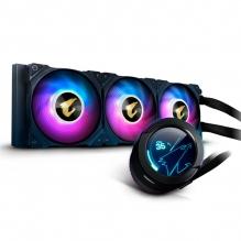 Enfriamiento Liquido Gigabyte Aorus Waterforce X 360, 3 Ventiladores ARGB, 360mm, LCD Display, RGB Fusion 2.0