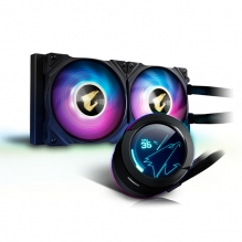 Enfriamiento Liquido Gigabyte Aorus Waterforce X 240, 2 Ventiladores ARGB, 240mm, LCD Display, RGB Fusion 2.0