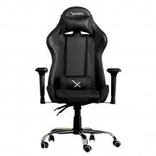 Silla Gamer Xzeal XZ10 Negro, Reclinable, 4D, Vinil, ZXSXZ10B