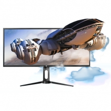"Monitor GameFactor MG800, 34"", Ultra Wide Quad HD, 3440 x 1440, 1MS, 100Hz, Freesync, 3x HDMI, Displayport"