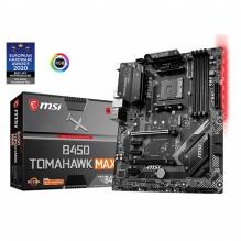 Tarjeta Madre MSI B450 Tomahawk Max, ATX, AM4, DDR4 4133Mhz OC, M.2, Crossfire