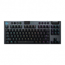 Teclado Mecánico Logitech G915 TKL, GL Tactile, Lightsync RGB, Lightspeed, Bluetooth - 920-009495