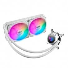 Enfriamiento Liquido Asus ROG Strix LC 240 RGB White Edition, 240mm, Aura Sync,