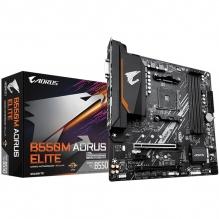 Tarjeta Madre Gigabyte B550M Aorus Elite, Micro-ATX, AM4, DDR4 4733Mhz OC, M.2