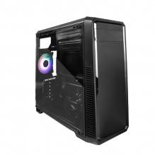 Gabinete GameFactor CSG300, Cristal Templado, E-ATX, 1 Ventilador RGB