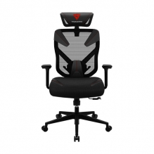 Silla Gamer Thunderx3 Yama 3 Black/Red, Reclinable, Ergonómica, 4D