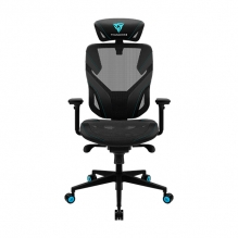 Silla Gamer Thunderx3 Yama 5 Black/Cyan, Reclinable, Ergonómica, 4D