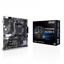 Tarjeta Madre Asus Prime A520M-K, Micro ATX, AM4, DDR4 4600Mhz, M.2