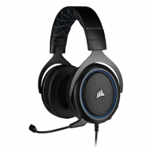 Diadema Corsair HS50 PRO Stereo Azul, Alámbrico, 3.5mm, PC, PS4, Xbox One, Switch, Mobile Devices