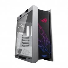 Gabinete Asus ROG Strix GX601 Helios White Edition, E-ATX, Cristal Templado, Aura Sync, RGB
