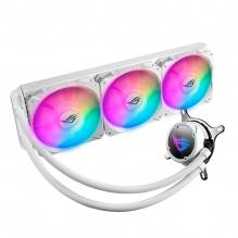 Enfriamiento Liquido Asus ROG Strix LC 360 RGB White Edition, 360mm, Aura Sync