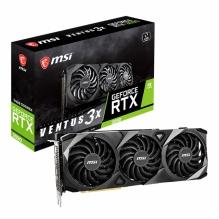 Tarjeta de video Nvidia MSI GeForce RTX 3090 Ventus 3X 24G, 24GB GDDR6X