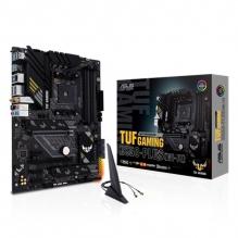 Tarjeta Madre Asus TUF Gaming B550-Plus (Wi-Fi), ATX, AM4, DDR4 4400Mhz OC, M.2, Crossfire, Bluetooth 5.1, Aura Sync