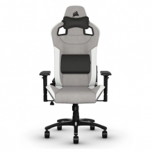 Silla Gamer Corsair T3 RUSH — Gray/White — CF-9010030-WW