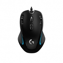 Mouse Logitech G300S Optical Gaming , Alámbrico, 9 Botones programable, Ambidiestro  2,500 DPI