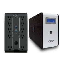 No-Break CDP, R-Smart 751, 750VA, 375W, 10 Contactos, UPS