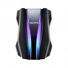 Disco Duro Externo Adata HD770G, RGB, 1TB, Negro, USB 3.2
