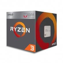 Procesador AMD Ryzen 3 2200G, 4 Cores, 4 Threads, Radeon Vega 8 Graphics, 3.5Ghz Base, 3.7Ghz Max, Socket AM4, Wraith Stealth