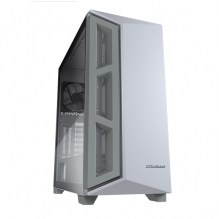Gabinete Cougar Darkblader X5 (White), E-ATX, Cristal Templado, Blanco Translucido, 1 Ventilador - CGR-5UM3W-X5