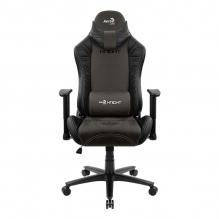 Silla Gamer Aerocool Knight Iron Black, AeroSuede, Reclinable, 4D - 4710562751208