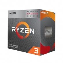 Procesador AMD Ryzen 3 3200G, 4 Cores, 4 Threads, Radeon Vega 8 Graphics, 3.6Ghz Base, 4.0Ghz Max, Socket AM4, Wraith Stealth (Venta exclusiva en ensamble y no para su venta individual
