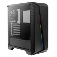 Gabinete Aerocool Cylon PRO RGB, Negro, Cristal Templado
