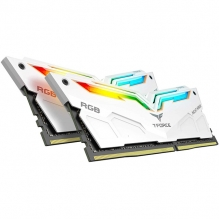 Memoria RAM Teamgroup Night Hawk RGB 16GB 2X8GB 3200MHZ Blanca - TF2D416G3200HC16CDC01