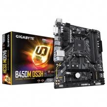 Tarjeta Madre Gigabyte B450M DS3H, Micro ATX, AM4, DDR4 3600Mhz OC, M.2