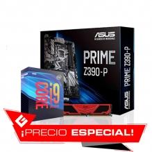 Combo de Actualizacion Intel I9 9900K / Asus Prime Z390-P / 16GB RAM 3200 Mhz