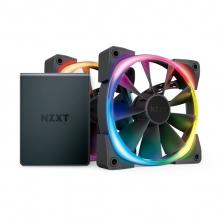 Ventiladores NZXT AER 2 2x120MM RGB, HUE2