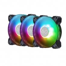 Ventiladores In Win Saturn ASN120, 3x120mm, ARGB - IW-FN-ASN120-3PK