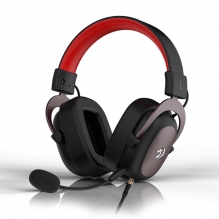 Diadema Gamer Redragon Zeus H510, USB, 3.5mm, 7.1 Virtual,  PC / Consolas / Smartphones