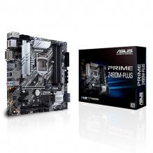 Tarjeta Madre Asus Prime Z490M-Plus, 10th Gen Intel, DDR4 4400Mhz OC, ATX, Dual M.2, Crossfire