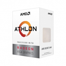 Procesador AMD Athlon 200GE, 2 Cores, 4 Threads, Radeon Vega 3 Graphics, 3.2Ghz Base, Socket AM4