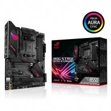 Tarjeta Madre Asus ROG Strix B550-E Gaming, ATX, AM4, DDR4 4600Mhz OC, M.2, Wi-Fi 6, Bluetooth 5.1, Aura Sync