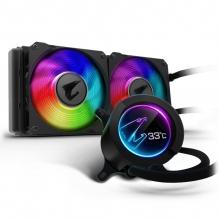 Enfriamiento Liquido Gigabyte Aorus Liquid Cooler 240, 240mm, LCD Display, RGB Fusion 2.0 Gigabyte