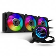 Enfriamiento Liquido Gigabyte Aorus Liquid Cooler 360, 360mm, LCD Display, RGB Fusion 2.0 Gigabyte