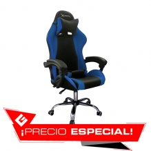 Silla Gamer Xzeal XZ05 Azul, Reclinable, Vinil, XZSXZ05A