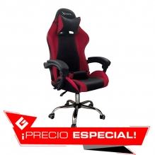 Silla Gamer Xzeal XZ05 Rojo, Reclinable, Vinil, XZSXZ05R