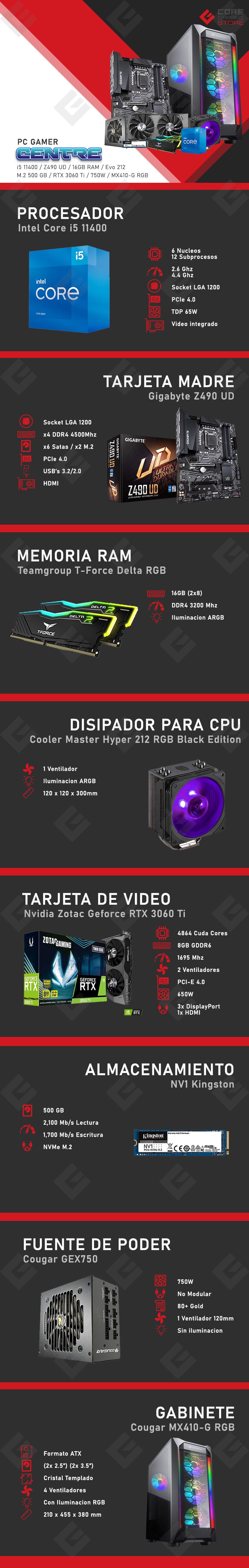PC Gamer Centre Intel