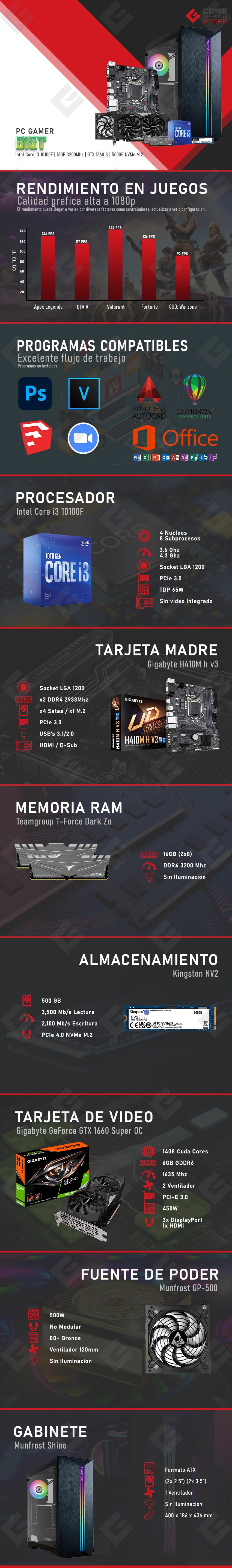 PC Gamer Gist Intel